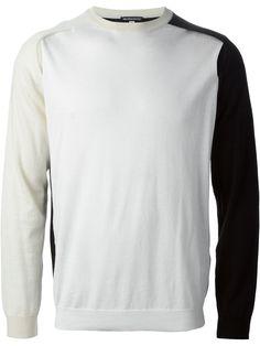 Ann Demeulemeester Contrast Sweater - - Farfetch.com