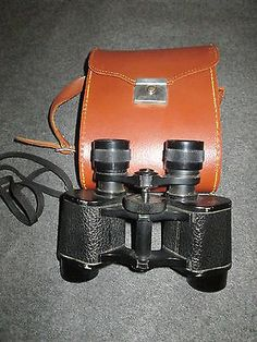 VINTAGE TOWER BINOCULARS 8X25 WITH CASE MADE IN FRANCE - http://cameras.goshoppins.com/binoculars-telescopes/vintage-tower-binoculars-8x25-with-case-made-in-france/