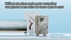 L'astuce Pour Accrocher Vos Photos SANS Faire de Trous Dans le Mur.
