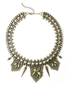 Awesome statement necklace