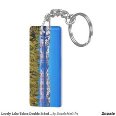 Lovely Lake Tahoe Double Sided Keychain  #laketahoe #tahoe #laketahoegifts #california #nevada #tahoegifts #lakelife #lake 30% OFF SITEWIDE     Today Only, Use Code: PRIMED4DEALS