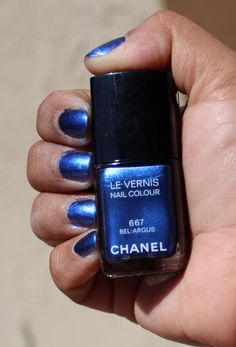 Chanel Bel-Argus review and swatches- http://its-just-makeup.blogspot.com/2013/04/nailpolish-review-chanel-bel-argus-667.html