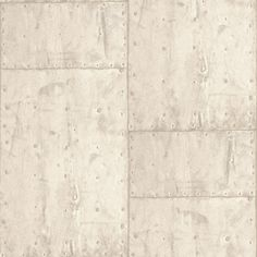Exposed PE-04-03-9 by Grandeco.  Industrial metal panel wallpaper. Available through Guthrie Bowron stores.