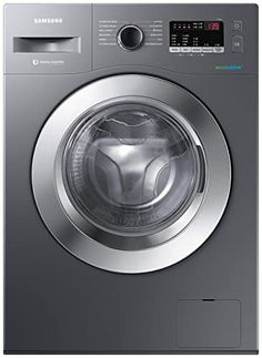 Samsung 6.5 Kg Inverter 5 star Fully-Automatic Front Loading Washing Machine (WW66R22EK0X/TL, Inox Grey, Hygiene steam): Amazon.in: Home & Kitchen Washing Machine Price, Domestic Appliances, Electronic Appliances, Canned Heat, Samsung, Price Comparison, Colorful Wallpaper, India, United Nations
