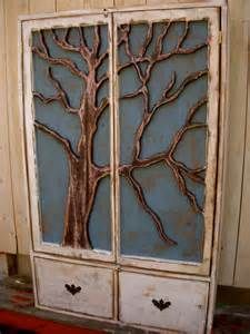 Image detail for -Marco Country Rustic Wood Iron Narrow Wall Cabinet