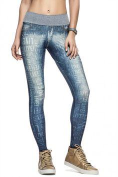 494042680 Calça Fusô Modern Live! Jeans • LIVE! •  shoponline  fitness  legging