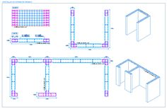 Civil Engineering Works, Chemical Engineering, Concrete Basement Walls, Concrete Floors, Autocad, Civil Drawing, Composite Columns, Structural Drawing, Deep Foundation