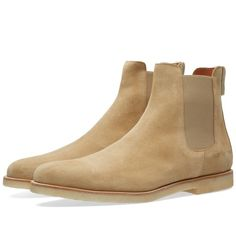 Common Projects Just Dropped the Seasons Best Chelsea Boots Grey Shoes, Men's Shoes, Common Projects Chelsea Boots, Fashion Shoes, Mens Fashion, Mens Attire, Sneakers For Sale, Leather Boots, Boots