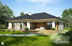 Oceania, 113,90 m2 - Domy - Styl Nowoczesny - Pracownia Projektowa Dobre Domy Flak & Abramowicz