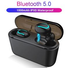 Bluetooth Earphones TWS Wireless Headphones Bluetooth Earphone Handsfree Headphone Sports Earbuds Gaming Headset Phone PK HBQ Note: There are two Wireless In Ear Headphones, Bluetooth Earbuds Wireless, Sport Earbuds, Bluetooth Gadgets, Sports Headphones, Buy Earphones, Phone Gadgets, Tech Gadgets, Ipod