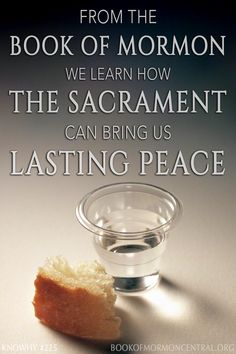 """Just how did the Nephites obtain peace for so long after Christ's visit to them? Mormon says it was """"because of the love of God which did dwell in the hearts of the people."""" But what could cause such love? Upon closer reading we see just how important the sacrament is in helpintg individuals and families maintain peace and love. https://knowhy.bookofmormoncentral.org/content/why-did-the-peace-last-so-long-in-4-nephi #Bible #OldTestament #Peace #Family #Peace #Sacrament #BookofMormon"""