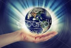 Woman Hand Holding Planet Earth - Stock Footage | by Activedia