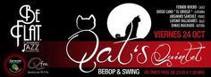 Los gatos vuelven a hacerse con el escenario de Be Flat, formación con Fermín Rivero, Diego Cano 'El griego', Argimiro Sánchez, Luismo Valladares y Dimas Machado. Este viernes 24 de octubre en Los Cristianos, a partir de las 23.45 h.