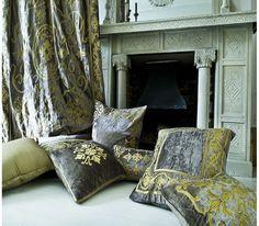 Whitehall Taupe Velvet Cushion Cover
