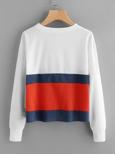 Tommy Hilfiger inspired pullover sweater top