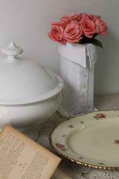 Decoración Vintage Blog: DIY - Florero Camisero
