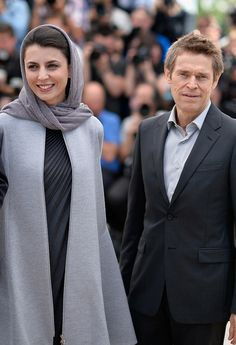 Leila Hatami Photos - Jury members Leila Hatami and Willem Dafoe attend the Jury photocall during the Annual Cannes Film Festival on May 2014 in Cannes, France. - Jury Photo Call at Cannes Cannes Film Festival 2015, Berlin Film Festival, Persian People, Persian Girls, Iranian Actors, Persian Beauties, Iranian Beauty, Street Hijab, Iranian Women Fashion