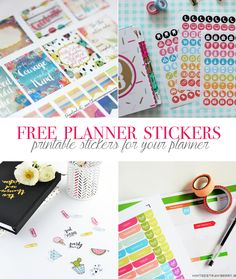 Free Planner Stickers, a List of my Favorite Printables | Our Holly Days