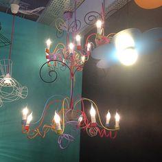 Très beau lustre par #challieresparis ! #MO15