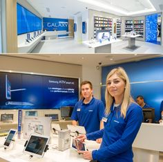 Even in store design: samsung store looks like Apple Store. No no... They Do not copy.... Hmm.