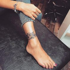 74 Tiny Unique Foot Tattoo Art Design For Woman To Try Your First Tattoo - Page . - 74 Tiny Unique Foot Tattoo Art Design For Woman To Try Your First Tattoo – Page 28 of # - Tattoo Calf, Form Tattoo, Shape Tattoo, Ankle Foot Tattoo, Tattoo On Leg, Ankle Tattoo Mandala, Tiny Foot Tattoos, Lower Leg Tattoos, Ankle Tattoos For Women