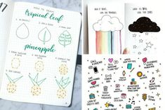 50 Stunningly Easy Bullet Journal Doodles You Can Totally Recreate Bullet Journal Doodles, Bullet Journal Diy, Bullet Journal Inspiration, Journal Ideas, Bullet Journals, Journal Art, Journal Themes, Journal Quotes, Scrapbook Journal