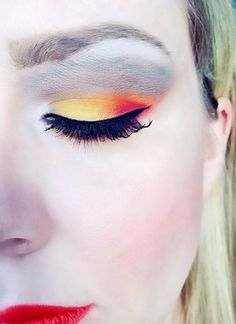 Autumn colors eyeshadows - autumn eyemakeup ideas