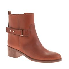 J.Crew - Parker ankle boots adding to my fall wish list