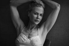 Nicole Kidman poses for 2017 Pirelli Calendar by Peter Lindbergh