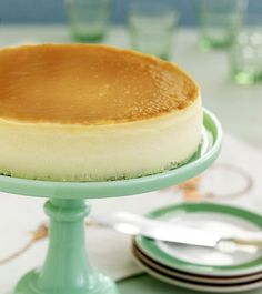 "Junior's in Brooklyn, New York is known for their delicious original cheesecake. You can make it at home using this recipe from ""Junior's Home Cooking."""