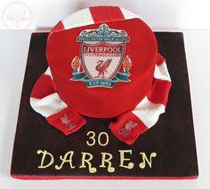 Liverpool fc cake Liverpool Cake, Liverpool Logo, Liverpool Football Club, Boys Bday Cakes, Birthday Cakes, Birthday Ideas, Paul Cakes, Football Cakes, 41st Birthday