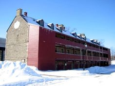 Soldier's Barracks, Fredericton, New Brunswick