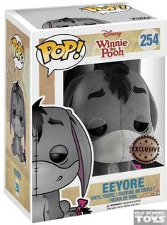 Eeyore (Winnie the Pooh) Pop Vinyl Disney (Funko) flocked exclusive