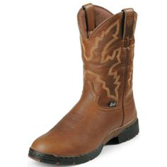 Justin Boots Men's George Strait 3.1 Round-toe Boot,Brown/Brown,7 EE US - http://authenticboots.com/justin-boots-mens-george-strait-3-1-round-toe-bootbrownbrown7-ee-us/