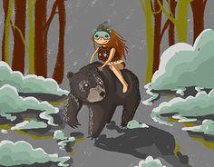 "Check out new work on my @Behance portfolio: ""Spirit Animal: Beargirl"" http://be.net/gallery/48248163/Spirit-Animal-Beargirl"