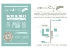 Second Story Invite - GRAND OPENING! | Flickr - Photo Sharing!