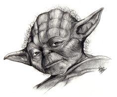 pencil drawings of han solo on star wars | Yoda-star-wars-characters-3340059-1000-830.jpg