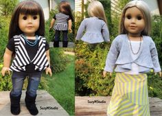 Draped Cardigan and Vest Sewing Pattern by SuzyMStudio