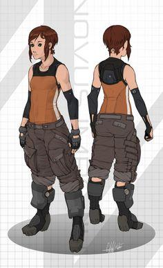 http://tekka-croe.deviantart.com/art/Reina-Cloude-320622568