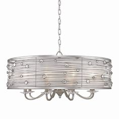 Golden Lighting 1993-8 PS Joia Eight Light Chandelier at ATG Stores