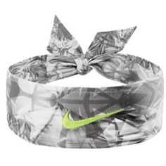 Nike Dri-Fit Head Tie - Women's - Black/Volt Ice