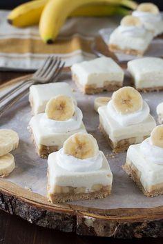 Banana Cream Bars -