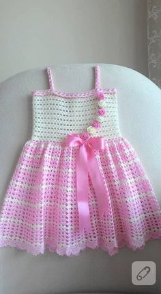 see what ira grynda iragryndaIrish lace, crochet, crochet patterns, clothing and decorations for the house, crocheted.White crochet baby dress set wThis Pin was discovered by DolDiscover thousands of images about A Collection of Crochet Girls Crochet Baby Dress Pattern, Baby Dress Patterns, Baby Knitting Patterns, Knit Crochet, Crochet Patterns, Crochet Design, Crochet Toddler, Baby Girl Crochet, Crochet Baby Clothes
