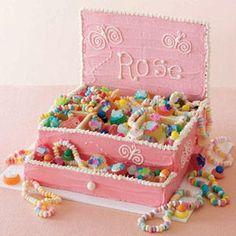 Una Tarta Caja Joyero para una Princesa - Bizcochos y Tartas - Recetas - Charhadas.com