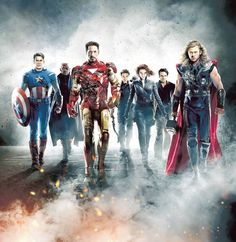 If this doesn't pump you up for this movie, I don't know what will! #Avengers