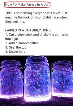 Fairies in a jar… why not? Must have for an outdoor goa party.