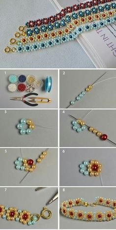 Kreativer Schmuck – # # Kreativer Schmuck Creative jewelry – # # Creative jewelry Related posts: Creative packaging ideas for a money gift and jewelry 10 DIY Creative Bracelet Ideas – DIY Jewelry Evil Eye Bra… Beaded Bracelets Tutorial, Diy Bracelets Easy, Beaded Bracelet Patterns, Bracelet Crafts, Handmade Bracelets, Jewelry Crafts, Beads Tutorial, Embroidery Bracelets, Jewelry Ideas
