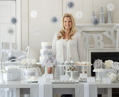 Gender Neutral, Winter White Baby Shower