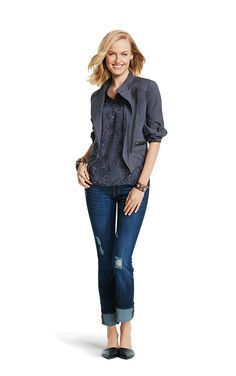 Discover CAbi's women's outfits including outfits for play, work, fitness and a night out on the town. View the Spring women's clothing collection.