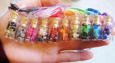 You get a gorgeous set of 500 professional clay casino chips in vegas chips guide to cleaning casino chips how to clean casino chips. Bottle Jewelry, Bottle Charms, Bottle Necklace, Clay Charms, Diy Bottle, Bottle Art, Cute Clay, Polymer Clay Miniatures, Poker Chips